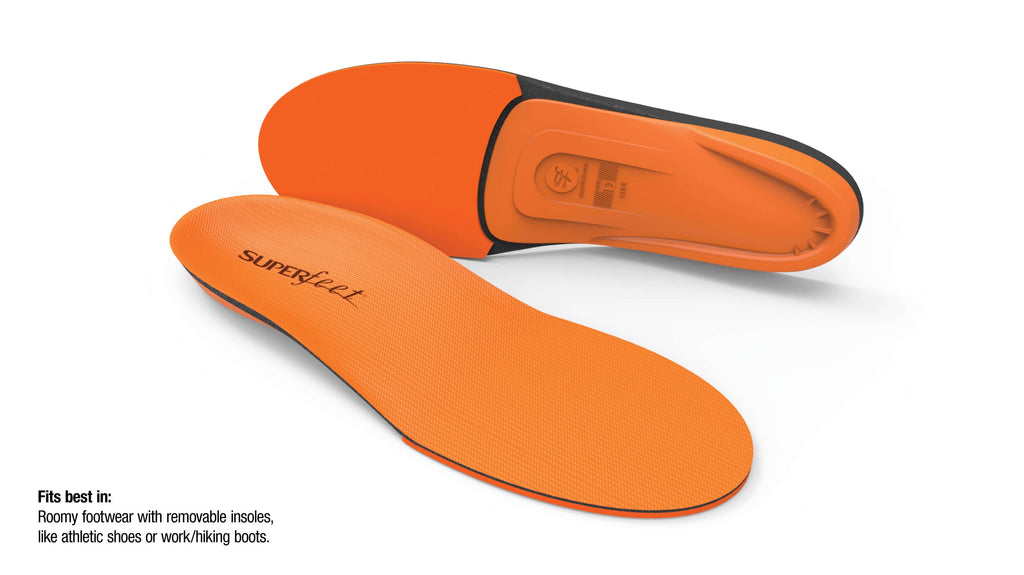 Superfeet ORANGE High Arch & High Impact Insoles