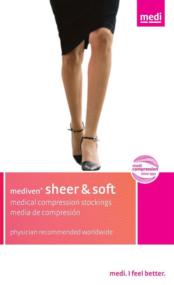 Mediven Sheer & Soft Women's 20-30 mmHg Thigh High