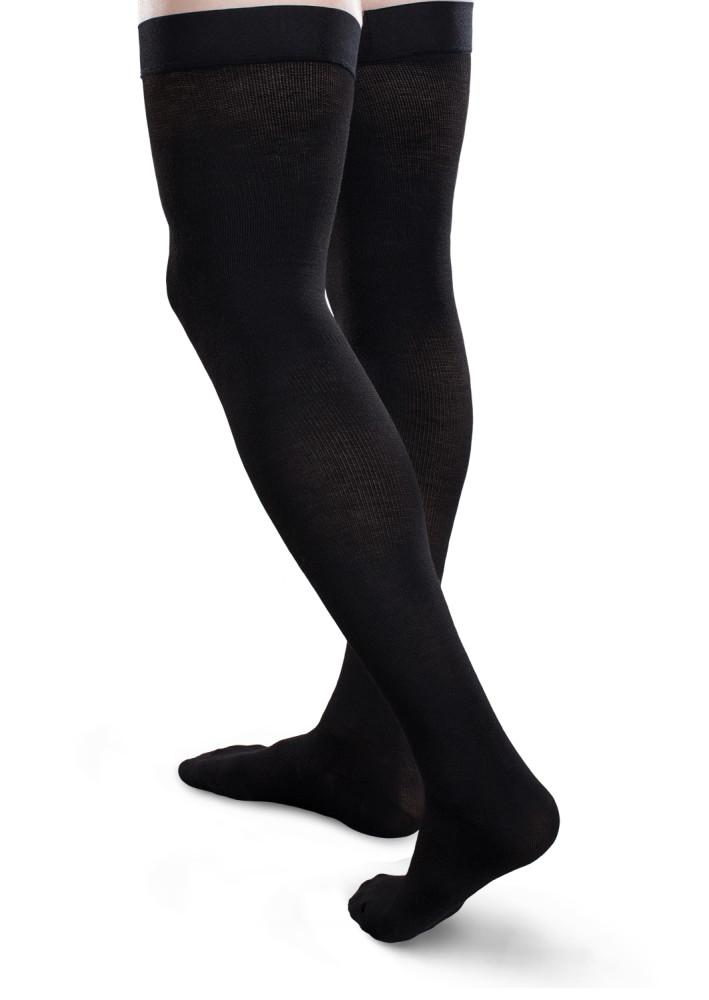 Core-Spun Cushioned 20-30 mmHg Thigh High