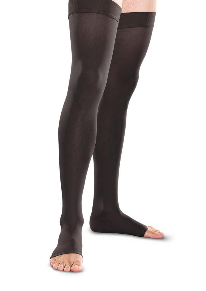 Therafirm 30-40 mmHg OPEN TOE Thigh High