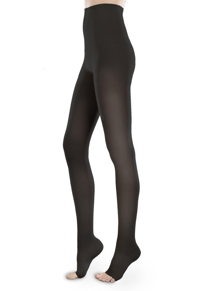 Therafirm Sheer Ease Women's 20-30 mmHg OPEN TOE Pantyhose