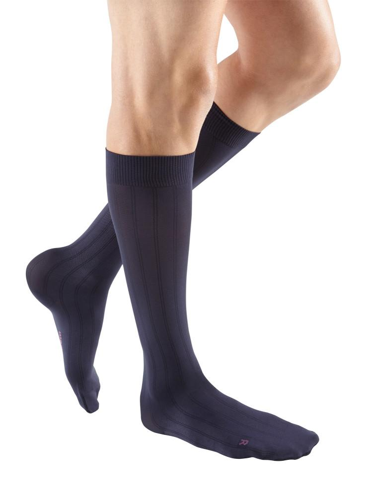 Mediven for Men Classic 20-30 mmHg Knee High, Extra Wide Calf