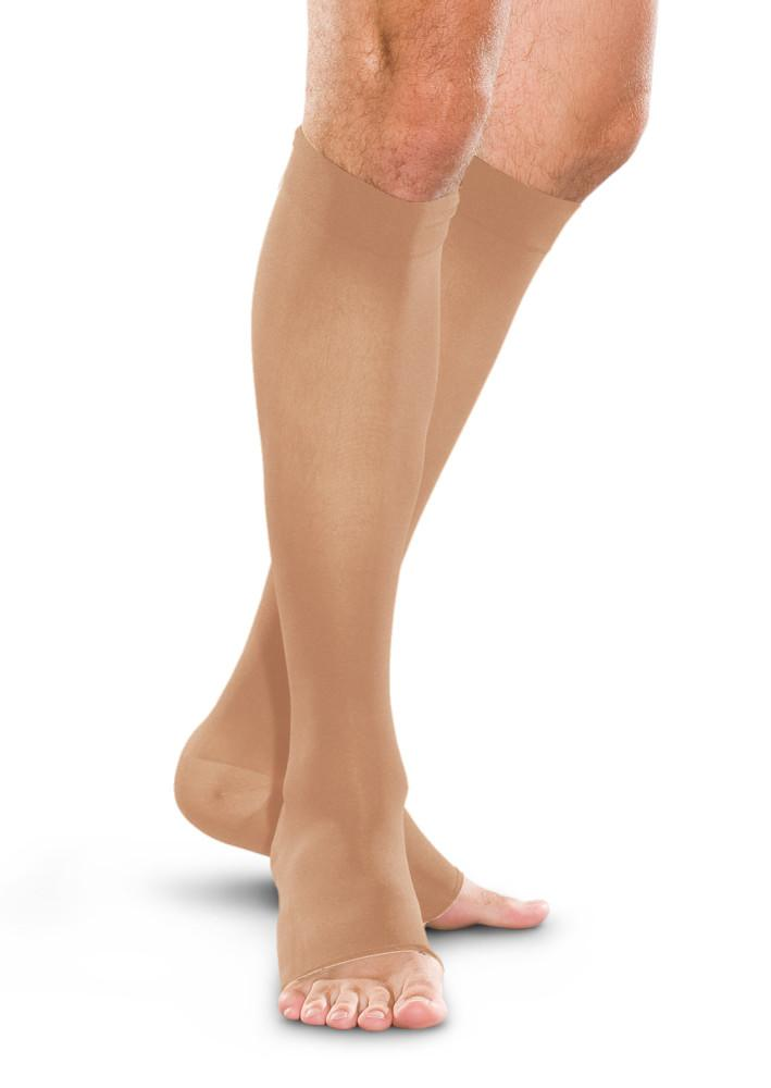 Therafirm 30-40 mmHg OPEN TOE Knee High