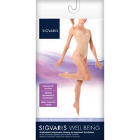 Sigvaris Sheer Fashion Women's 15-20 mmHg OPEN TOE Knee High