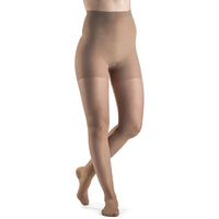 Sigvaris Sheer Fashion Women's 15-20 mmHg Pantyhose, Suntan