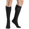 Sigvaris Casual Cotton Men's 15-20mmHg Knee High, Black