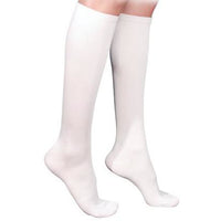 Sigvaris Cotton Women's 20-30 mmHg Knee High, White