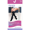 Sigvaris Cotton Women's 30-40 mmHg Knee High w/ Silicone Band Grip Top