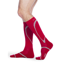 Sigvaris High Tech 15-20 mmHg Knee High, Red