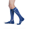 Sigvaris High Tech 15-20 mmHg Knee High, Blue