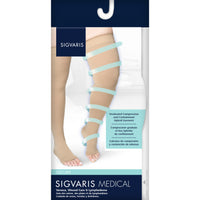 Sigvaris Secure 20-30 mmHg OPEN TOE Thigh High