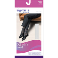 Sigvaris Sheer Women's 20-30 mmHg OPEN TOE Knee High