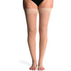 Sigvaris Sheer Women's 20-30 mmHg OPEN TOE Thigh High, Toasted Almond