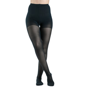 Sigvaris Sheer Women's 15-20 mmHg Pantyhose, Dark Navy