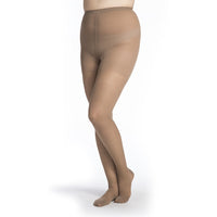 Sigvaris Sheer Women's 15-20 mmHg Pantyhose, Café