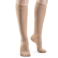 Sigvaris Soft Opaque Women's 15-20 mmHg Knee High, Nude