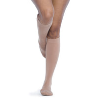 Sigvaris Soft Opaque Women's 15-20 mmHg Knee High, Pecan