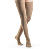 Sigvaris Opaque Women's 30-40 mmHg Thigh High, Suntan