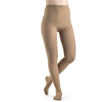 Sigvaris Opaque Women's 20-30 mmHg Plus Sized Pantyhose, Light Beige (Crispa)