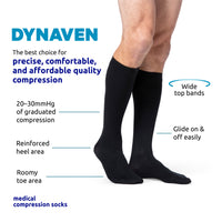 Dynaven Men's 20-30 mmHg Knee High