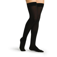 Sigvaris Secure Women's 30-40 mmHg Thigh High, Black