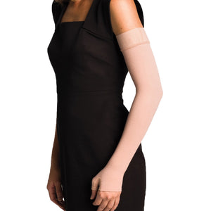 Sigvaris Advance 20-30 mmHg Armsleeve w/ Gauntlet, Beige