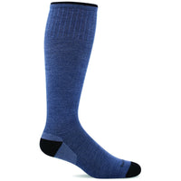 Sockwell Men's Elevation Firm Compression Socks, Denim