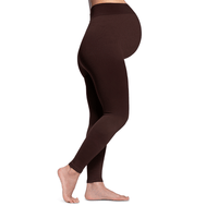 Sigvaris Soft Silhouette Women's 15-20 mmHg Maternity Leggings, Espresso