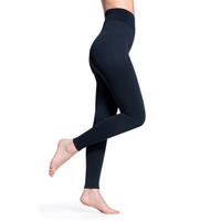 Sigvaris Soft Silhouette Women's 15-20 mmHg Leggings, Midnight Blue