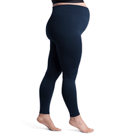 Sigvaris Soft Silhouette Women's 15-20 mmHg Maternity Leggings, Midnight Blue