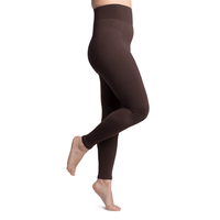 Sigvaris Soft Silhouette Women's 15-20 mmHg Leggings, Espresso