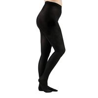 Actifi 20-30 Surgical Opaque Pantyhose, Black