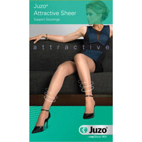 Juzo Attractive Women's 15-20 mmHg Thigh High w/ Silicone Top Band