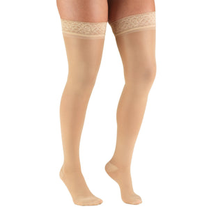 Truform TruSheer Women's 30-40 mmHg Thigh High