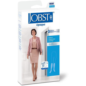 Jobst Opaque SoftFit Women's 15-20 mmHg OPEN TOE Knee High