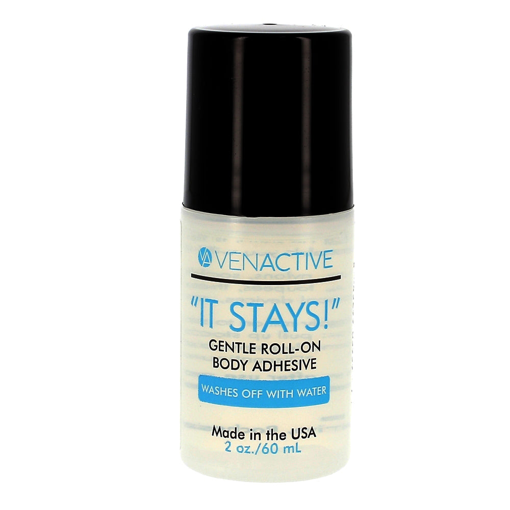 """It Stays!""® Roll-On Adhesive"