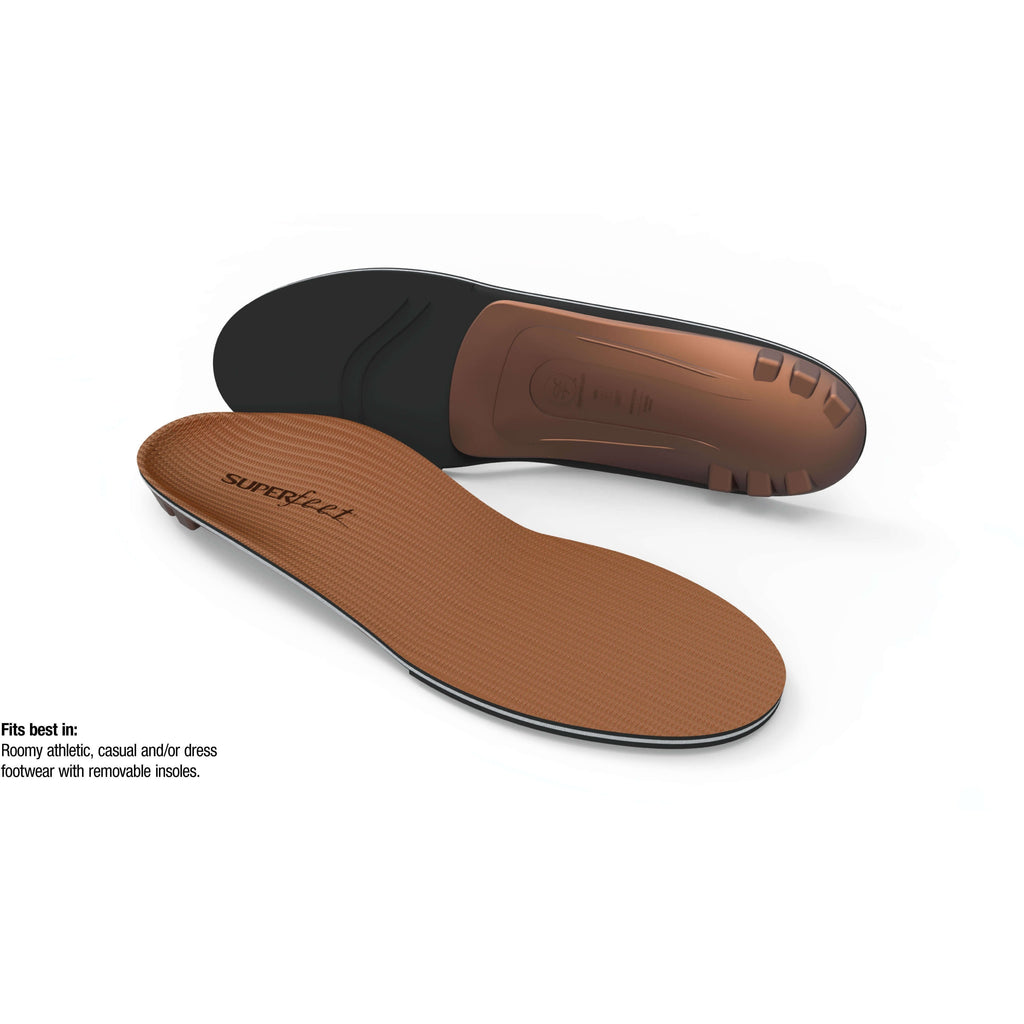 Superfeet COPPER Memory Foam Insoles