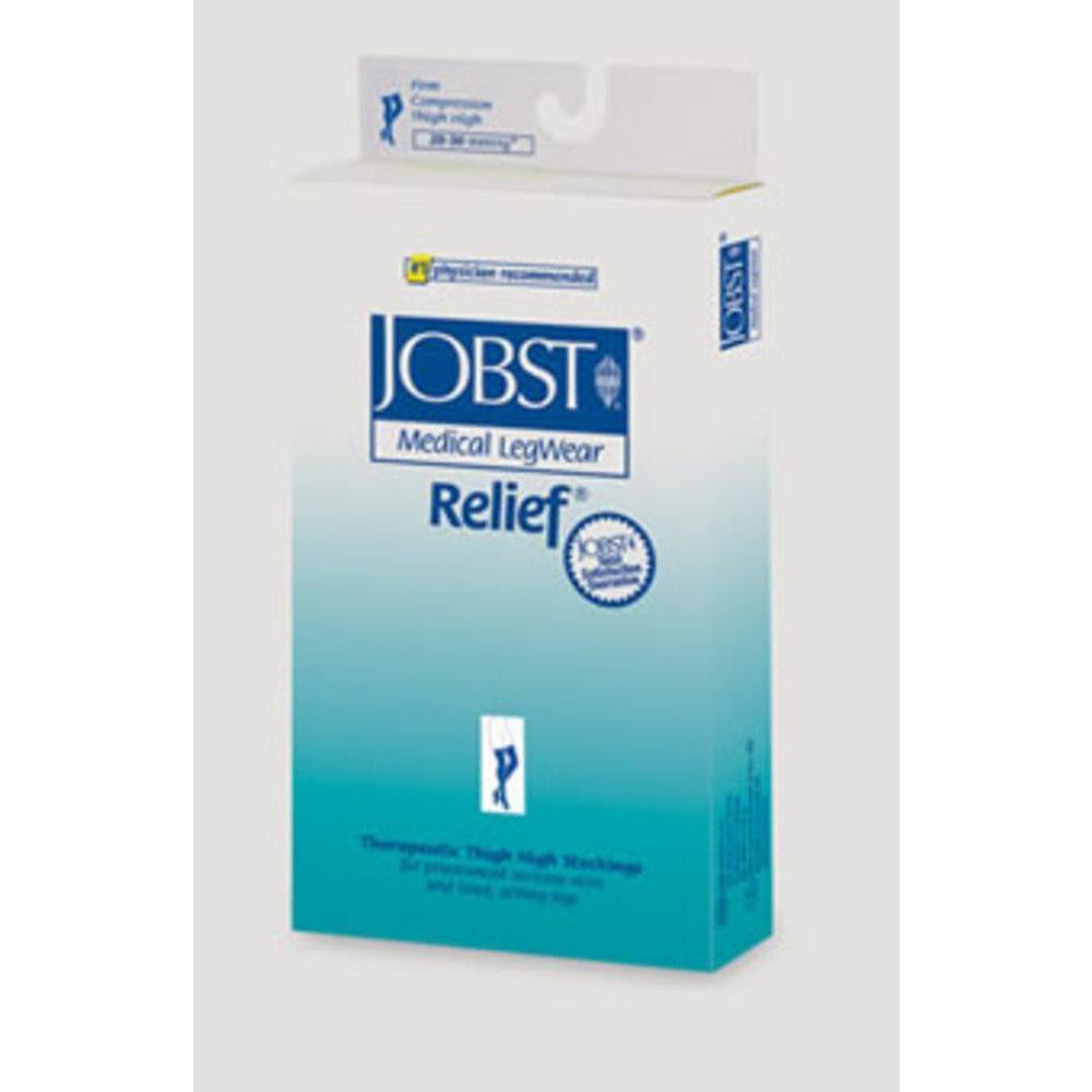 Jobst Relief 20-30 mmHg Double Leg OPEN TOE Chap