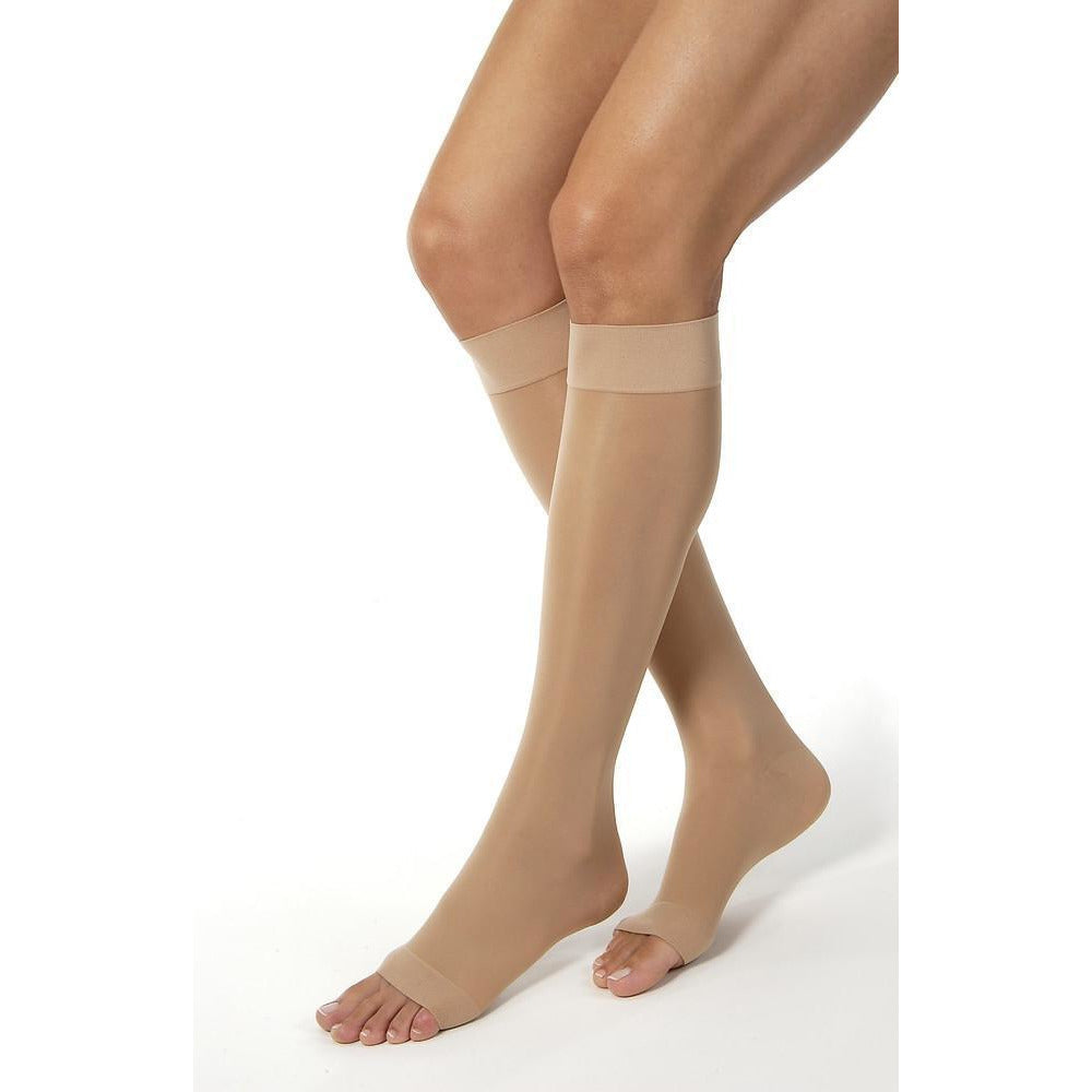 Jobst UltraSheer Women's 20-30 mmHg OPEN TOE Knee High