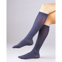 Activa Women's Microfiber Dress 20-30 mmHg Knee High, Navy