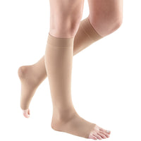 Mediven Comfort 15-20 mmHg OPEN TOE Knee High, Natural