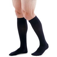 Duomed Patriot Men's 20-30 mmHg Knee High, Navy