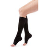 Duomed Advantage 15-20 mmHg OPEN TOE Knee High, Black