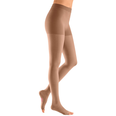 Mediven Plus 40-50 mmHg OPEN TOE Pantyhose, Beige