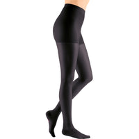 Mediven Sheer & Soft Women's 20-30 mmHg Maternity Pantyhose, Ebony