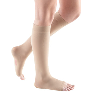 Mediven Comfort 15-20 mmHg OPEN TOE Knee High, Sandstone