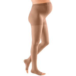 Mediven Plus 30-40 mmHg OPEN TOE Maternity Pantyhose, Beige