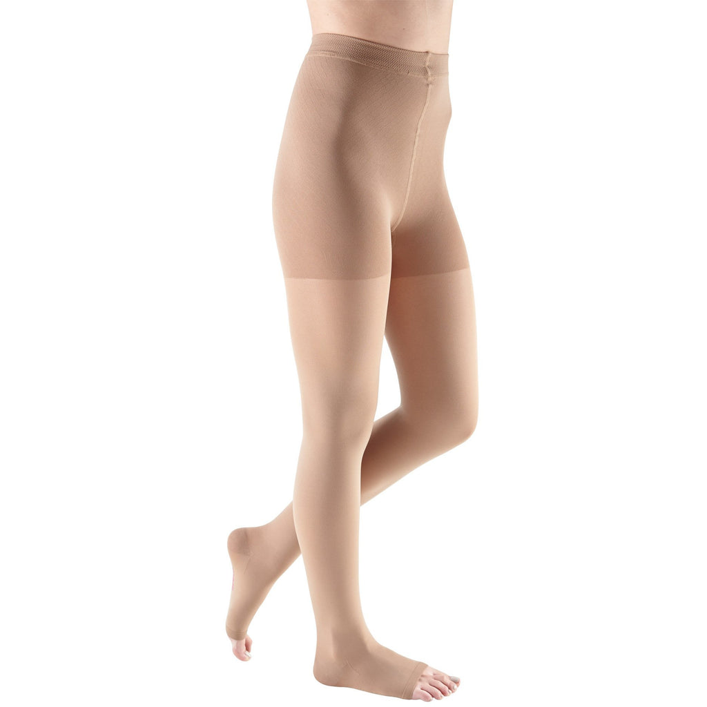 Mediven Comfort 30-40 mmHg OPEN TOE Pantyhose, Natural
