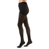 Duomed Transparent Women's 15-20 mmHg Waist High, Black