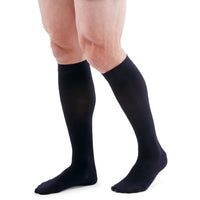 Duomed Patriot Men's 20-30 mmHg Knee High, Black